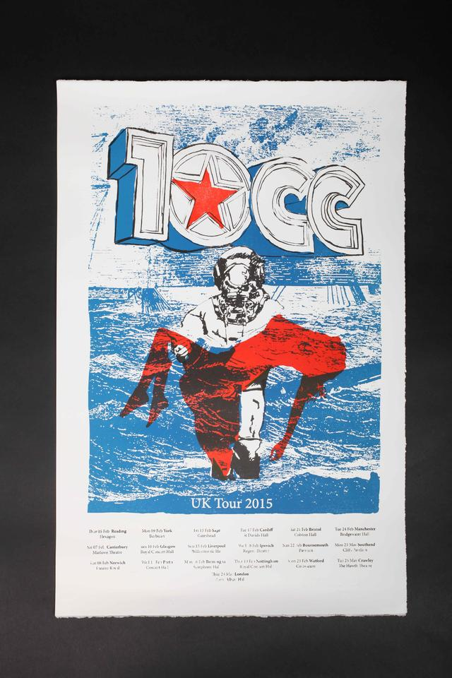 Limited Edition Cotton Paper Tour Poster
