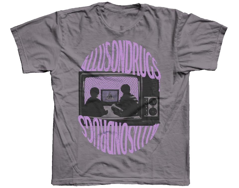 Allusontelly T Shirt [Grey/Lilac]