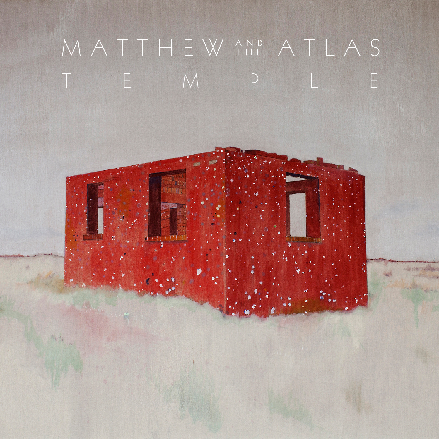"Matthew and the Atlas - Temple 12"" Vinyl with free digital download"