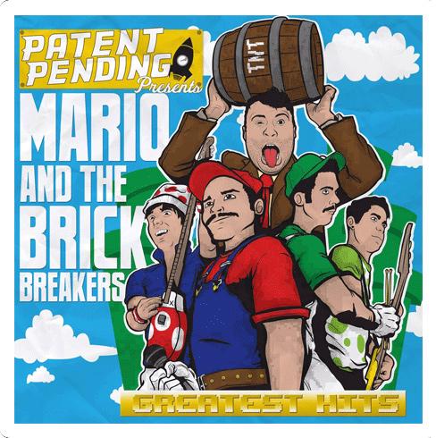 Mario and The Brick Breakers CD
