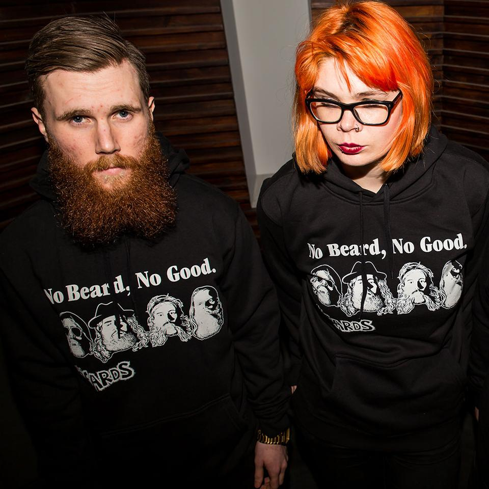 No Beard, No Good - Hoodie