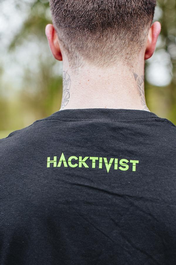"""""""Hashtivist"""" Logo [Grey] T-Shirt"""