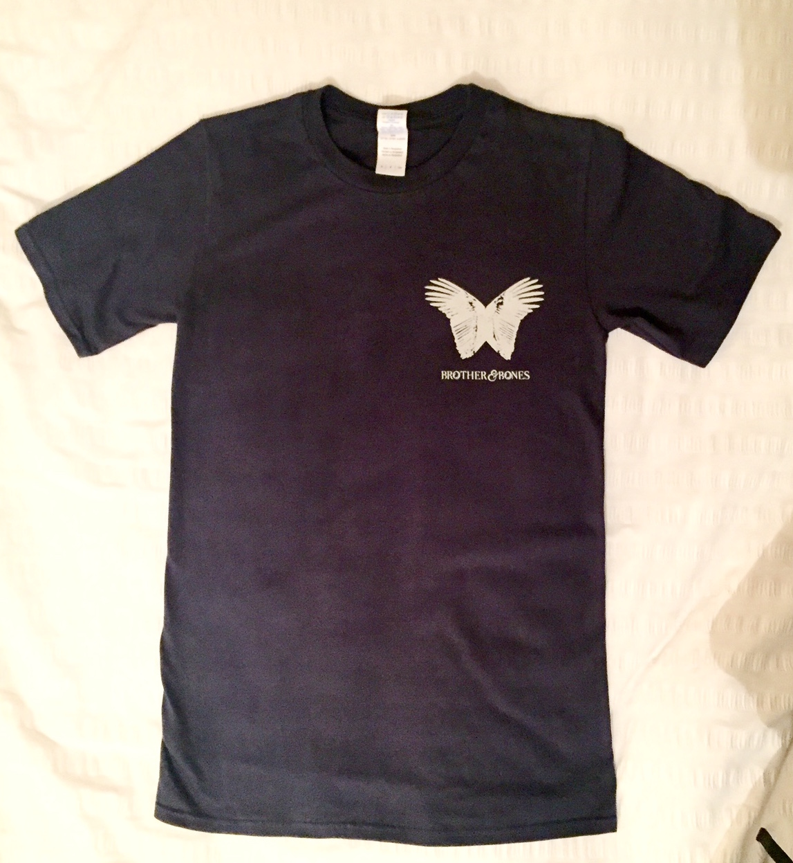 Mens 'Wings' Pocket T-Shirt - NAVY