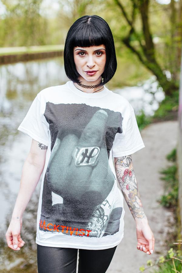 Middle Finger T Shirt (White)