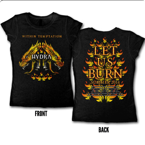 Let Us Burn Womens Tee