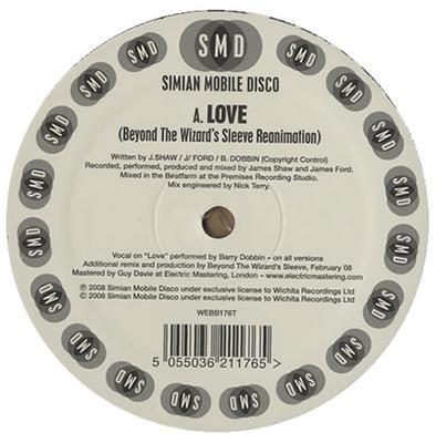 "Love (Beyond The Wizard's Sleeve Remix) / Hotdog (Cosmo Vitelli Remix) 12"""