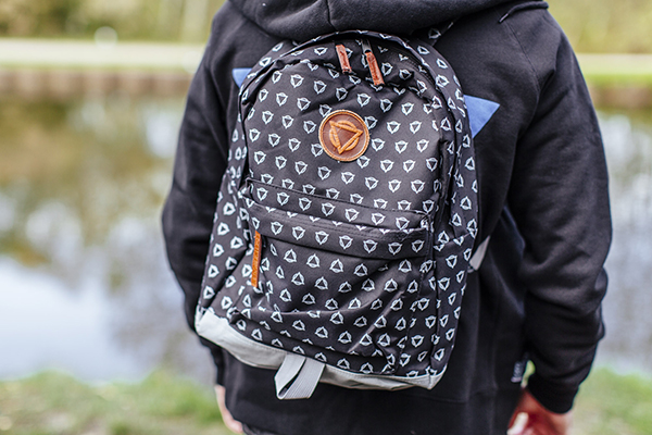 All Over Logo Rucksack