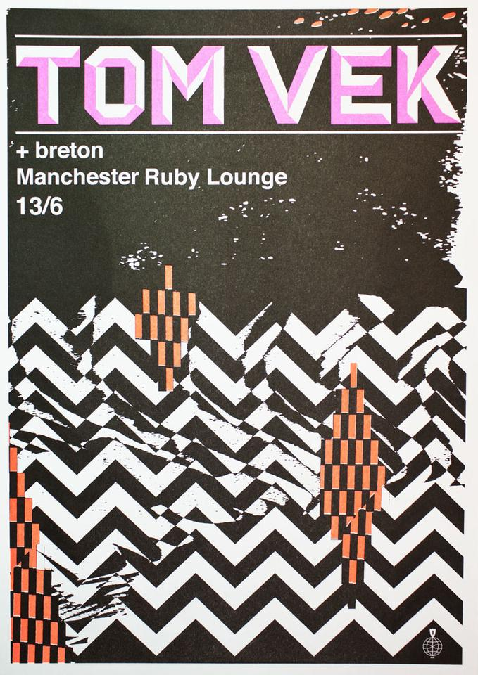 Live Poster - Danny Sangra - Manchester (A3)