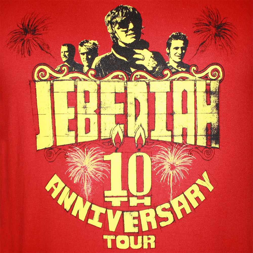 10th Anniversary - Red T-Shirt