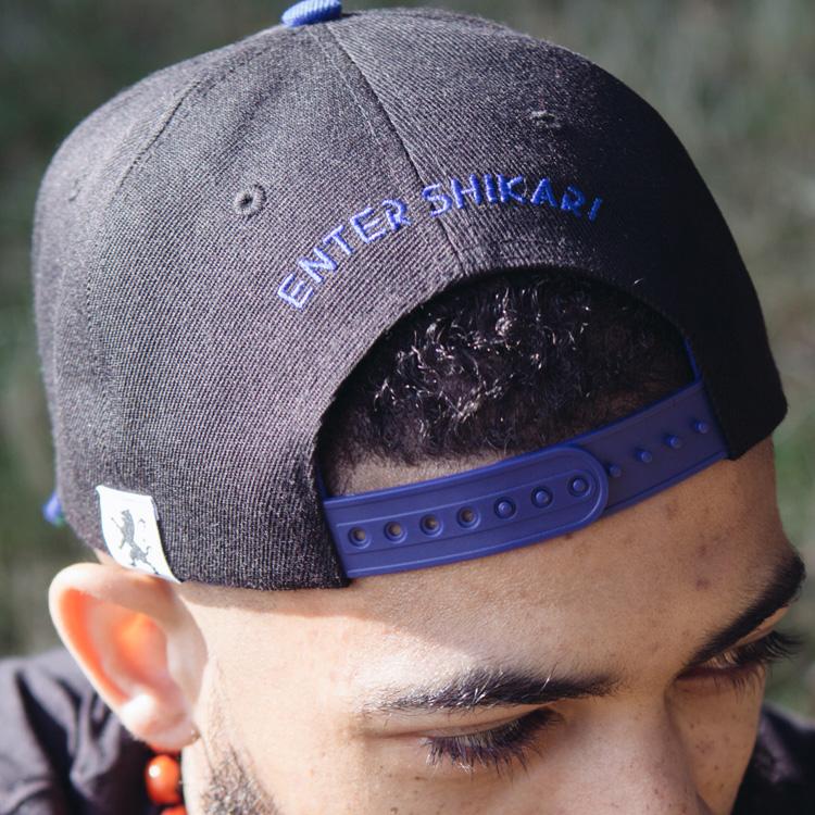 BLUE / BLACK SNAPBACK