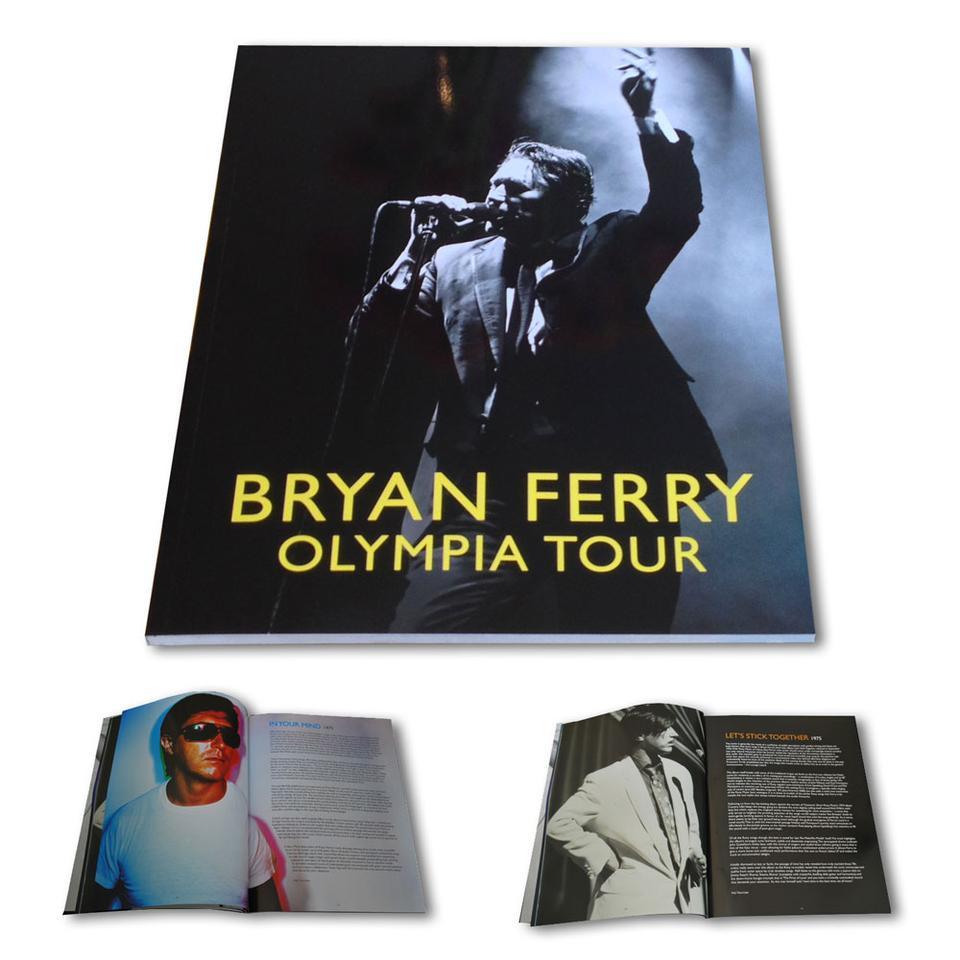 'Olympia' Tour Programme