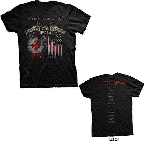 SALE PRICE! North America Flags Tour Tee