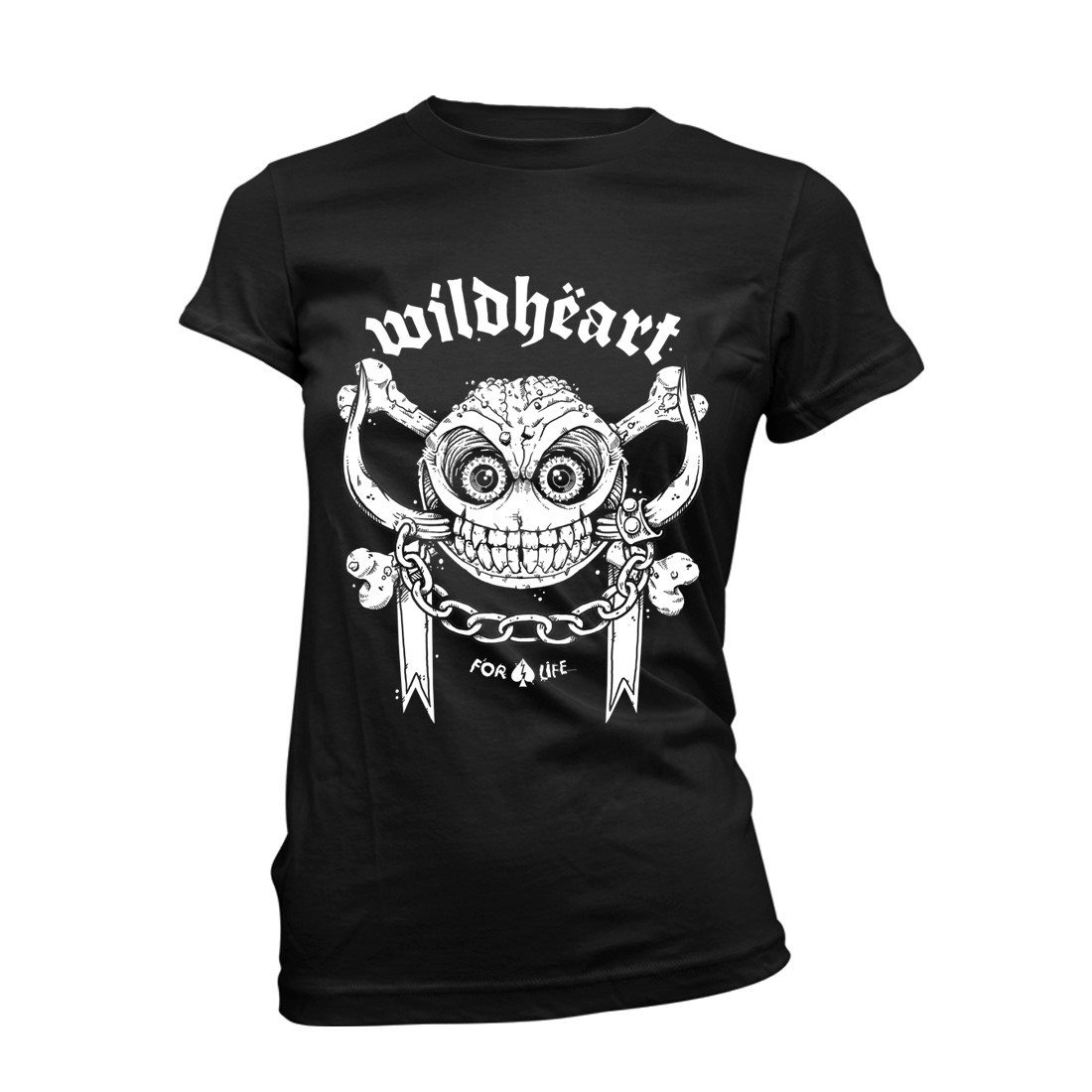 Snagglebones – Girls Black Tee