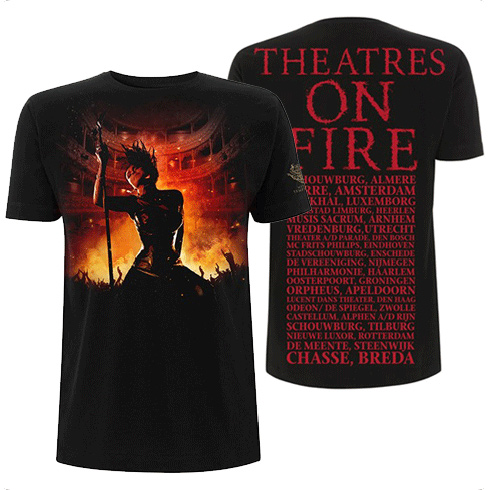 SALE PRICE! Theatres On Fire Tour T Shirt