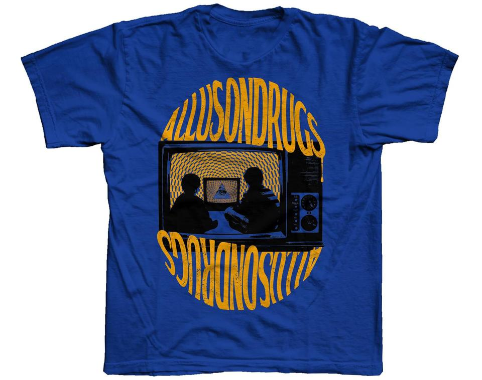 Allusontelly T Shirt [Blue/Yellow]