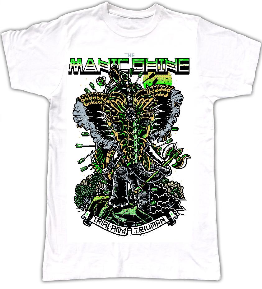 War Elephant T Shirt *Green Special*