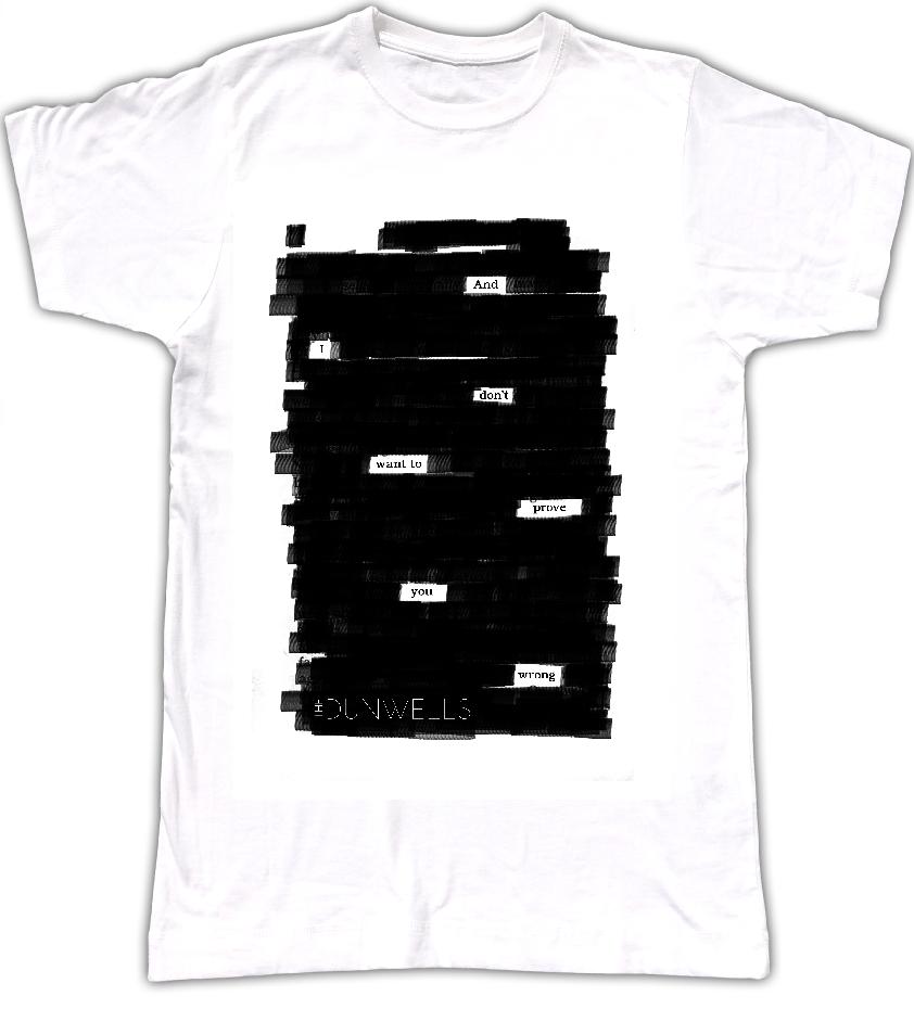 Lyrics T-Shirt (Womans)