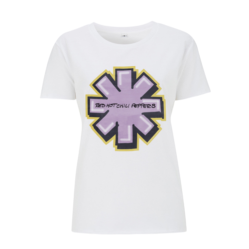 Graffiti Asterisk – Girls White Tee