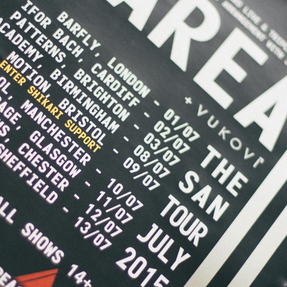 San Tour Poster I