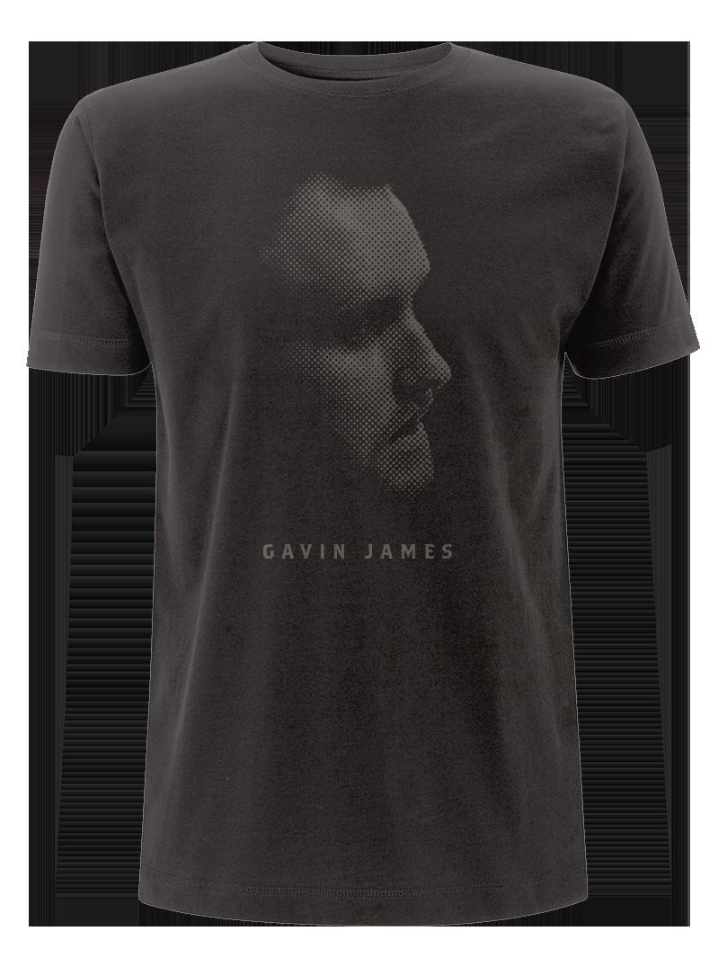 Gavin James - Black T Shirt (Male)