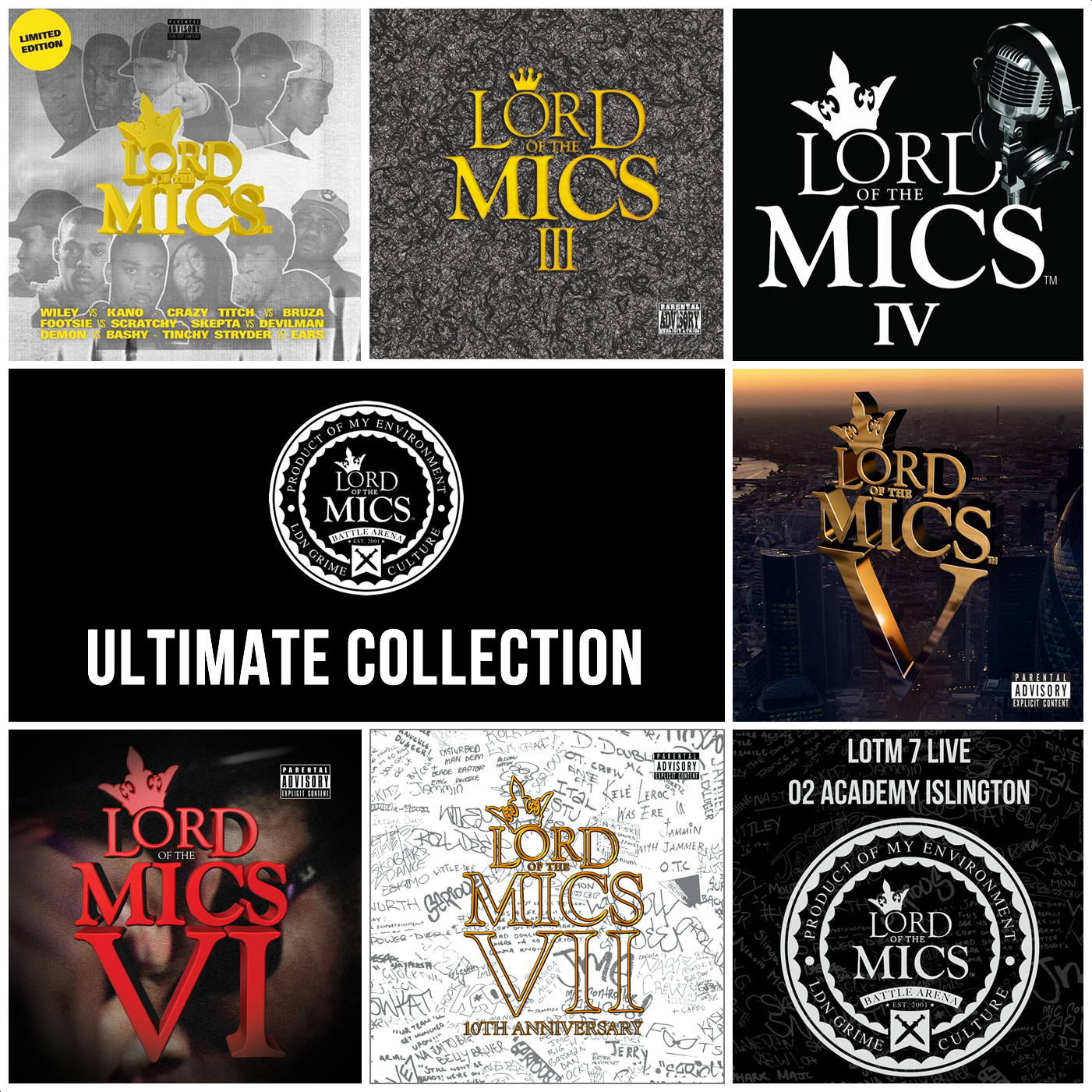 Lord of the Mics Ultimate Collection