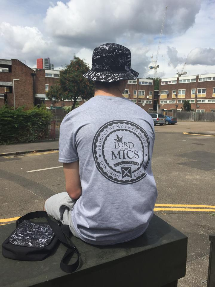 Classic Grey Print T-Shirt