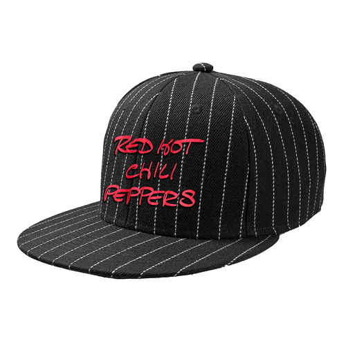 Type – Black & White Pinstripe FlexFit Cap