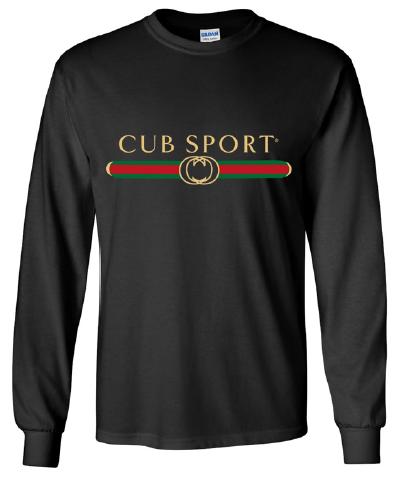 Cub Sport Black Long Sleeve Emblem