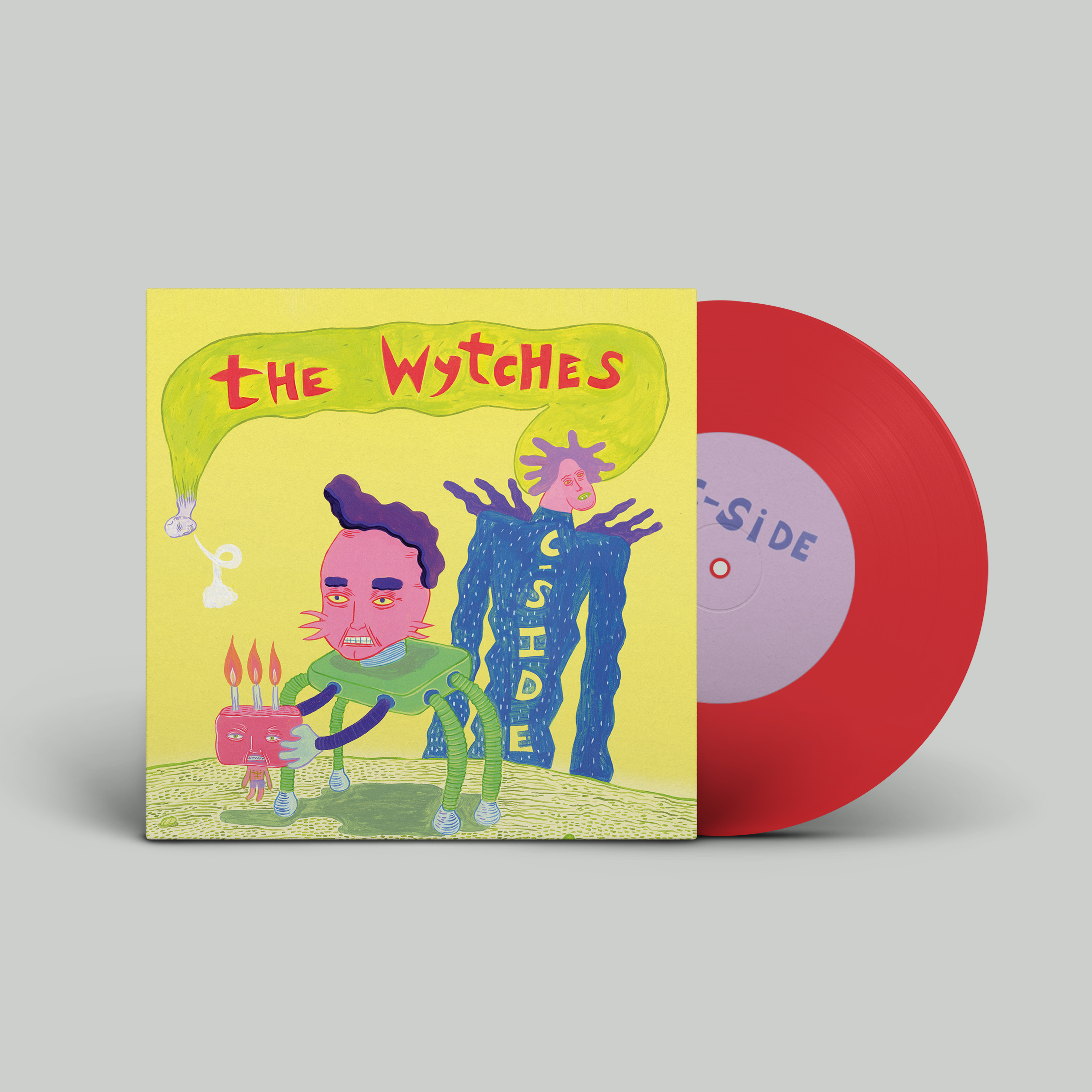 "The Wytches  C-Side 7"" Red Vinyl"