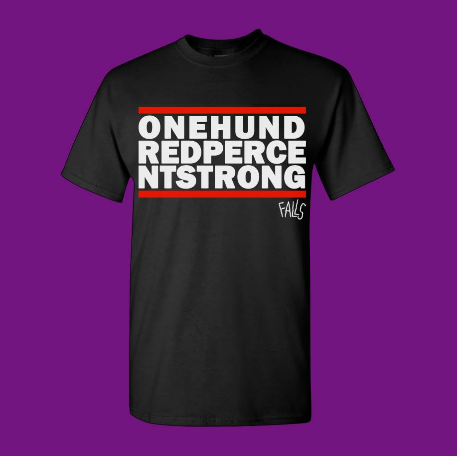 ONE HUNDRED PERCENT STRONG TEE - PRE ORDER